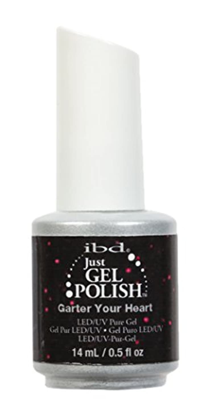返還急いで実験をするibd Just Gel Nail Polish - Garter Your Heart - 14ml / 0.5oz