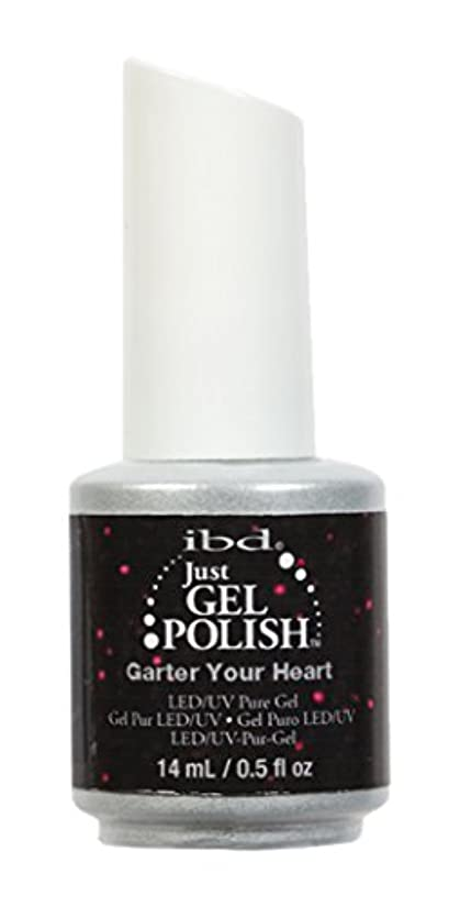 エンティティ摩擦宣言するibd Just Gel Nail Polish - Garter Your Heart - 14ml / 0.5oz