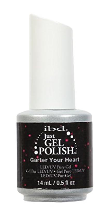 合理的名前で発生ibd Just Gel Nail Polish - Garter Your Heart - 14ml / 0.5oz