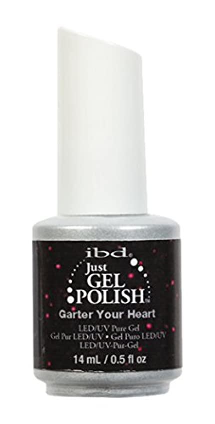 健康的有利ご覧くださいibd Just Gel Nail Polish - Garter Your Heart - 14ml / 0.5oz