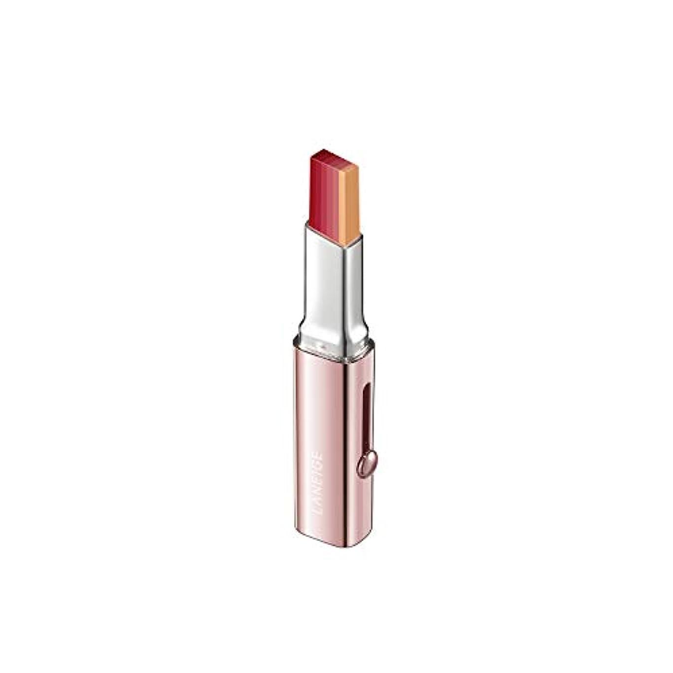 逆説勝つ比較【ラネージュ】階層リップバー(1.9G)/ Layering Lip Bar-6つのカラーでのグラデーションカラー演出 (#19 GENNY RED)