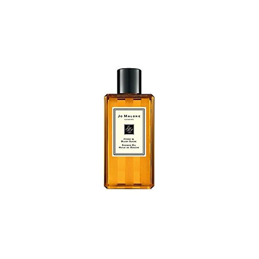 怠中国メジャーJo Malone Peony & Blush Suede Shower Oil - 250ml (Pack of 6) - ジョーマローン牡丹&スエードシャワーオイル赤面 - 250ミリリットル (x6) [並行輸入品]