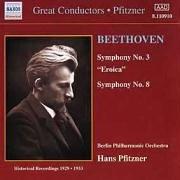 プフィッツナー指揮 べートーヴェン交響曲第3番&第8番の商品写真