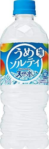 サントリー 天然水 うめソルティ 熱中症対策 540ml ×24本