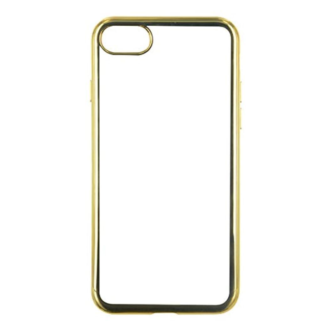 しっかりサリーデコレーションBigBen iPhone 7対応 ケース ビッグベン コレクション TPU ゴールド COQUEMETGOLDIP7
