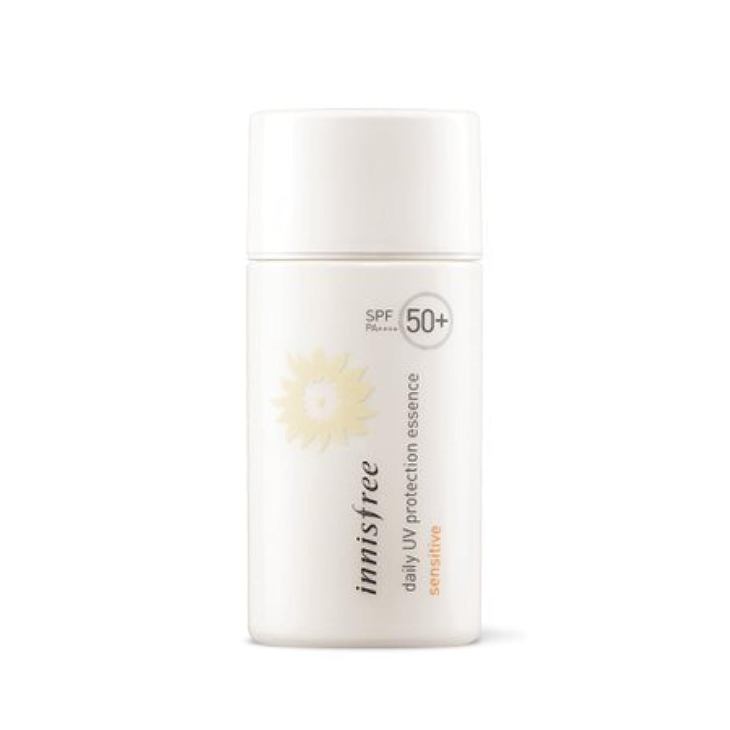 突然皮ワーム[イニスフリー/Innisfree ] デイリー UV プロテクション エッセンス センシティブ SPF50+ PA++++ daily UV protection essence sensitive 50ml [並行輸入品]