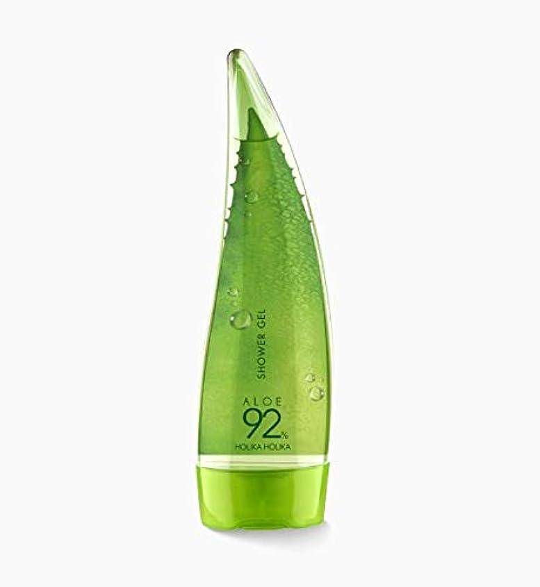緩む質量電報[holika holika] ALOE92% Shower Gel 250ml / [ホリカホリカ]アロエ92%シャワージェル250ml [並行輸入品]