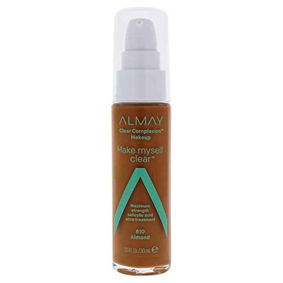 フライカイトフォーマット適応するClear Complexion Makeup - 810 Almond