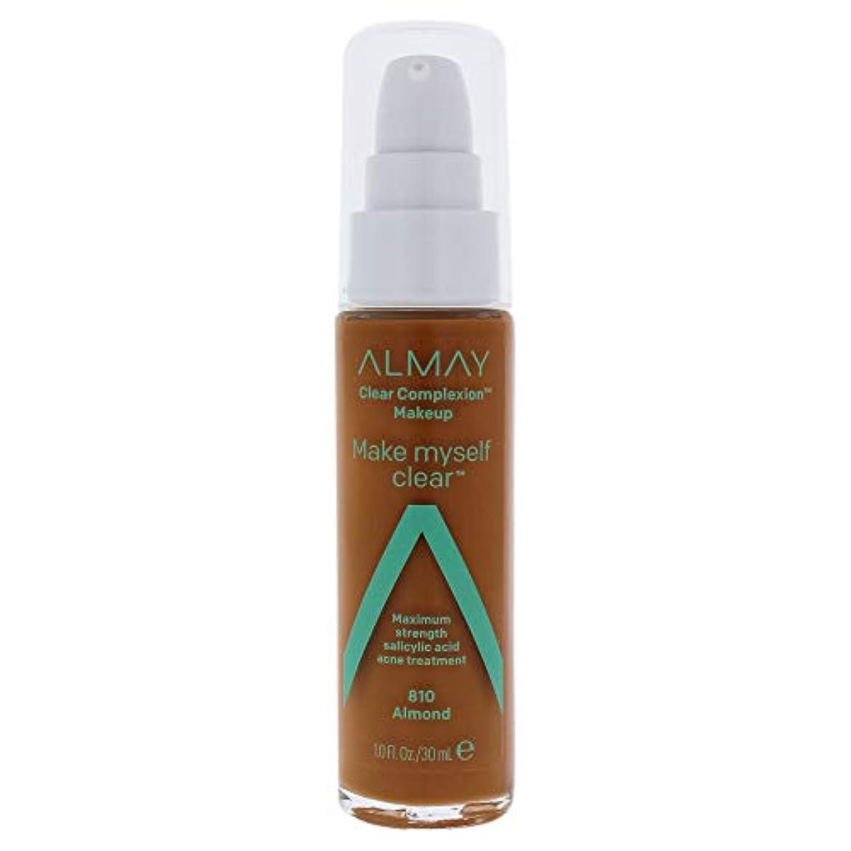 遊具エトナ山社交的Clear Complexion Makeup - 810 Almond