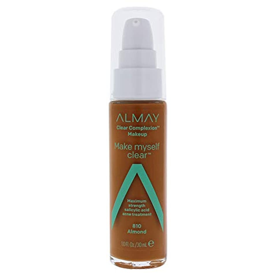 太平洋諸島正午追放するClear Complexion Makeup - 810 Almond