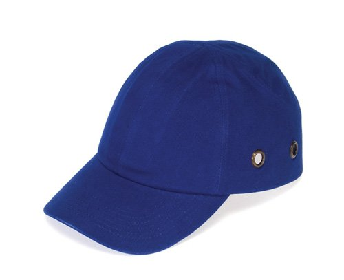 Liberty DuraShell Polyethylene Baseball Bump Cap with Protect Pad, Blue (Pack of 6) by Liberty Glove & Safety