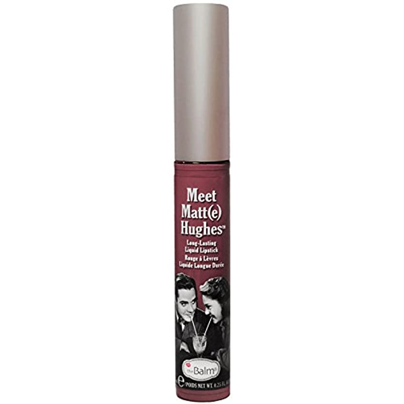 湿原平等寸前Thebalm Meet Matt- e Hughes Long-Lasting Liquid Lipstick Charming (並行輸入品) [並行輸入品]