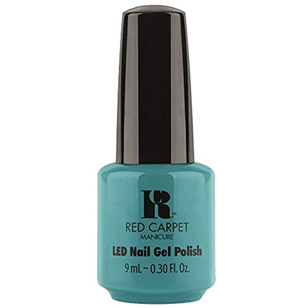 容器月曜日同意するRed Carpet Manicure - LED Nail Gel Polish - Poolside Fling - 0.3oz / 9ml
