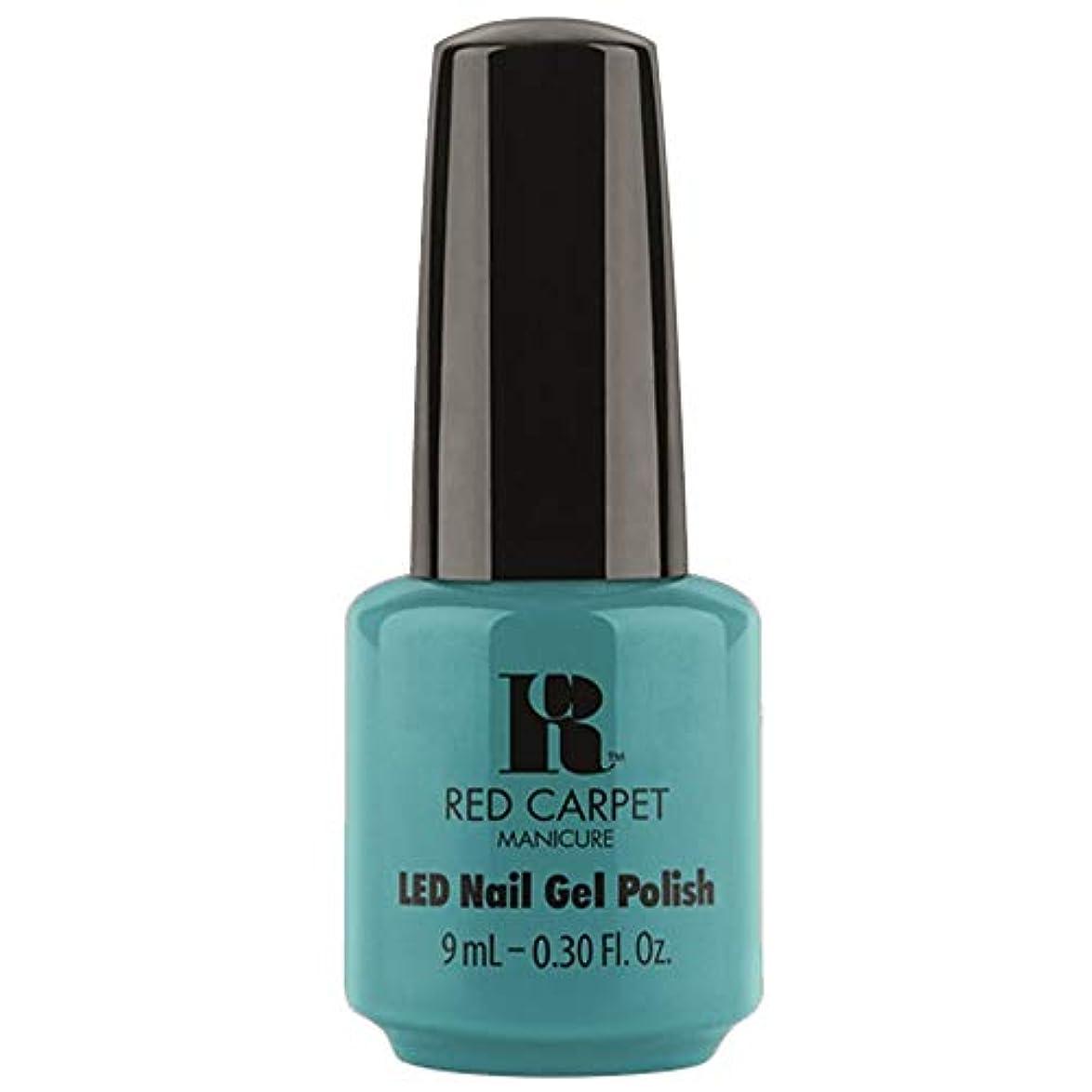 枠発明陪審Red Carpet Manicure - LED Nail Gel Polish - Poolside Fling - 0.3oz / 9ml