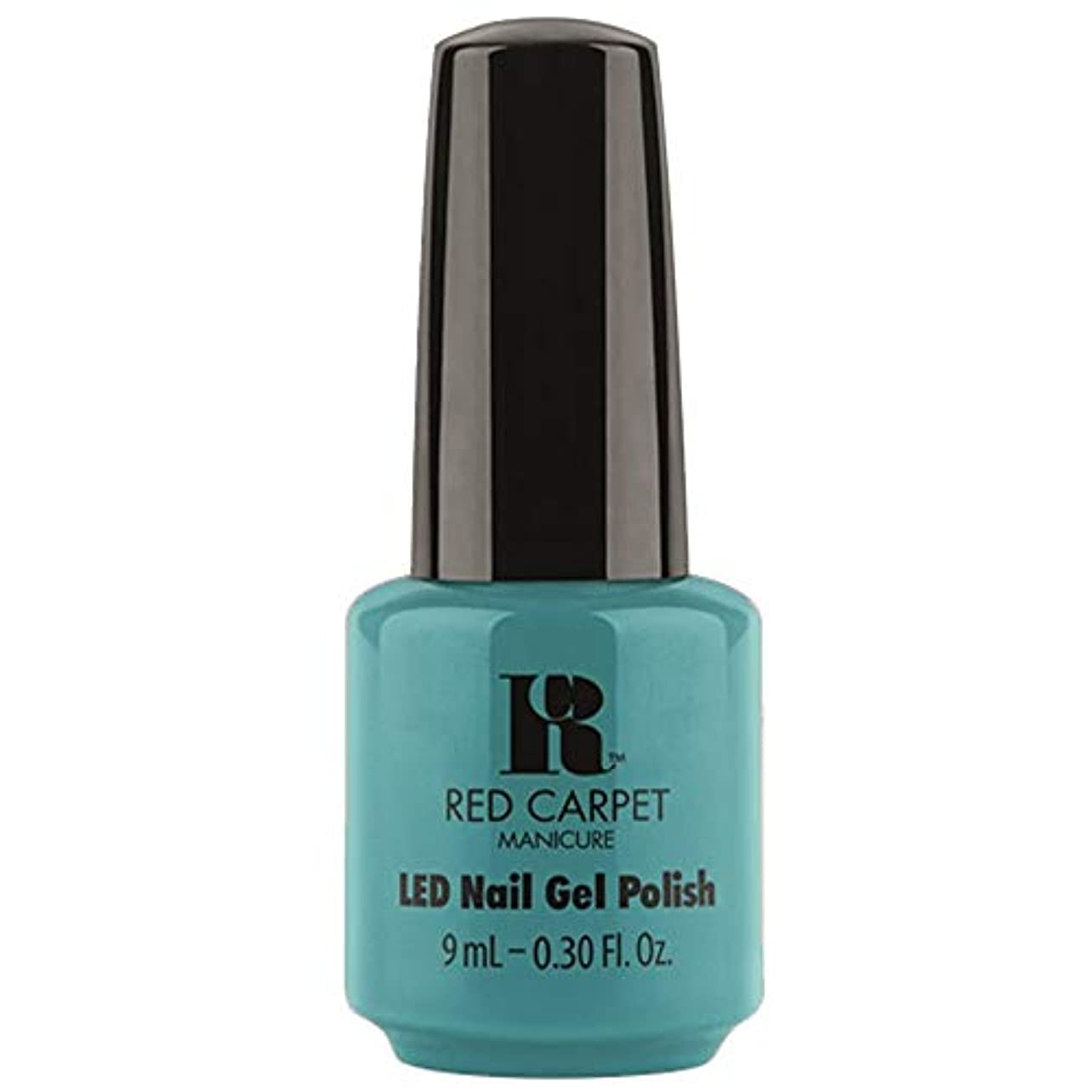 満たす空港オーロックRed Carpet Manicure - LED Nail Gel Polish - Poolside Fling - 0.3oz / 9ml