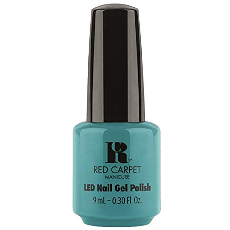 ひねり提唱するアヒルRed Carpet Manicure - LED Nail Gel Polish - Poolside Fling - 0.3oz / 9ml