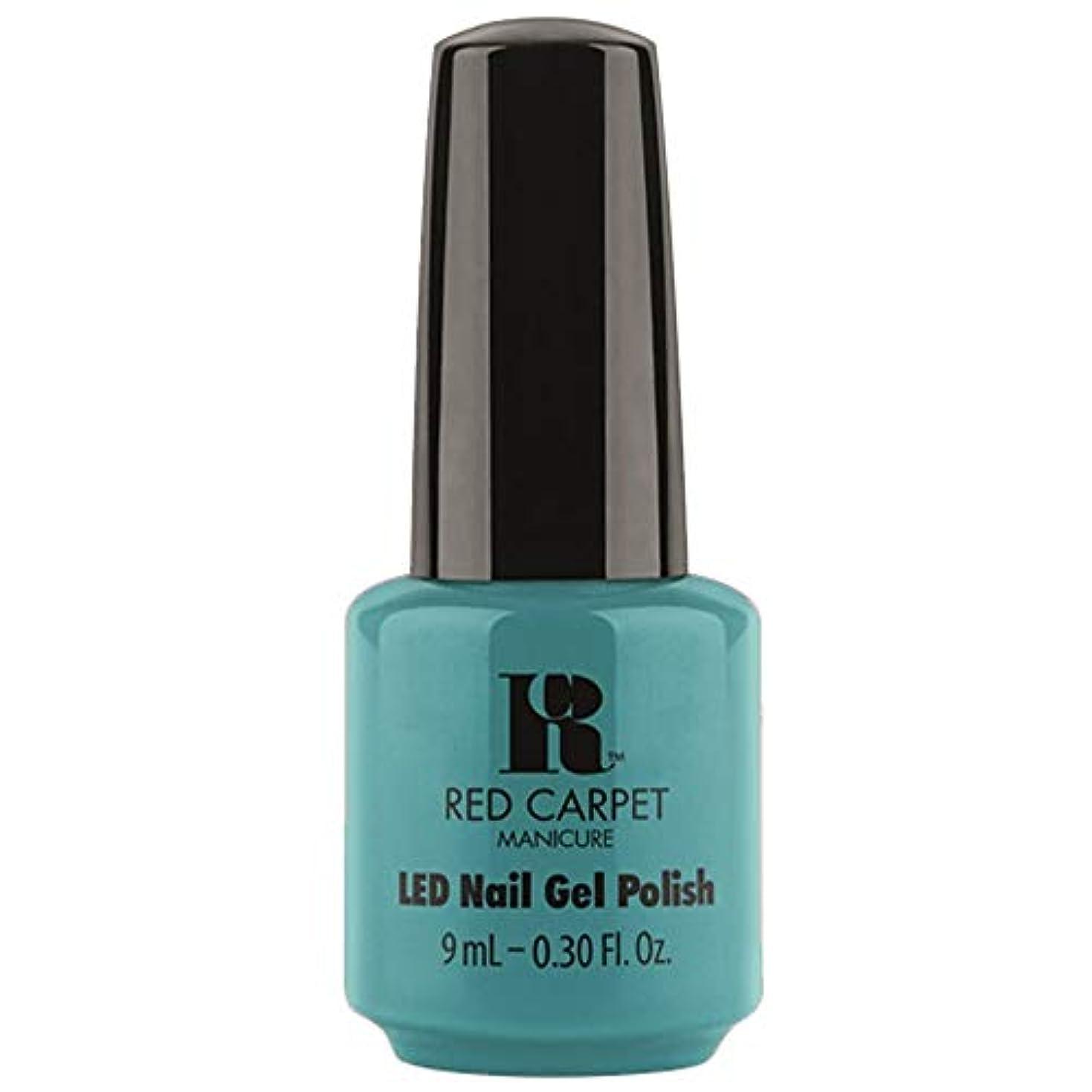 Red Carpet Manicure - LED Nail Gel Polish - Poolside Fling - 0.3oz / 9ml