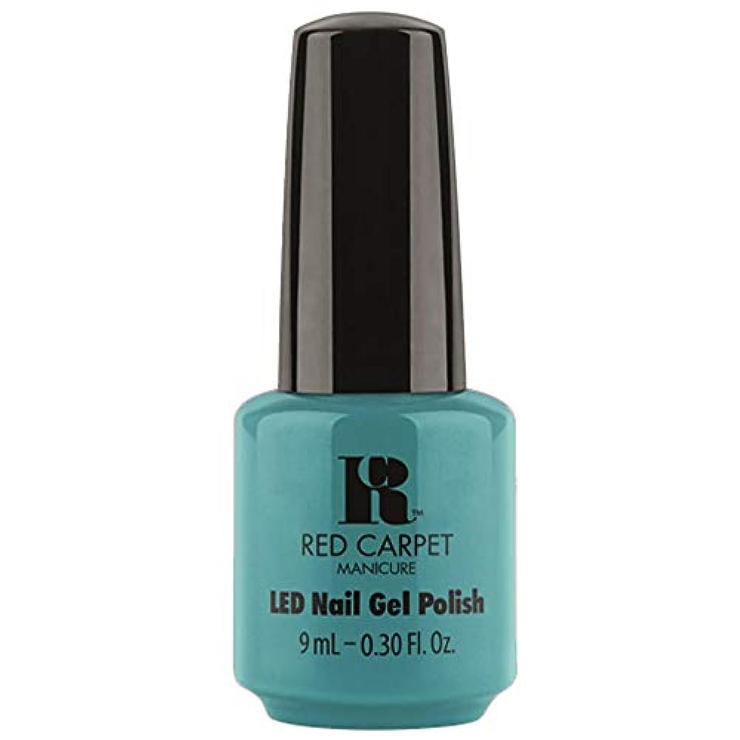 トランペットアクセスできない降雨Red Carpet Manicure - LED Nail Gel Polish - Poolside Fling - 0.3oz / 9ml