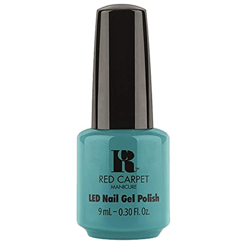 戦う検証支出Red Carpet Manicure - LED Nail Gel Polish - Poolside Fling - 0.3oz / 9ml
