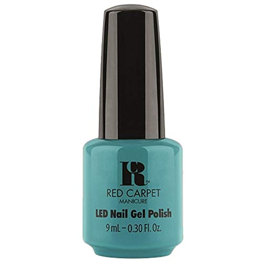 寄託ピグマリオンにはまってRed Carpet Manicure - LED Nail Gel Polish - Poolside Fling - 0.3oz / 9ml