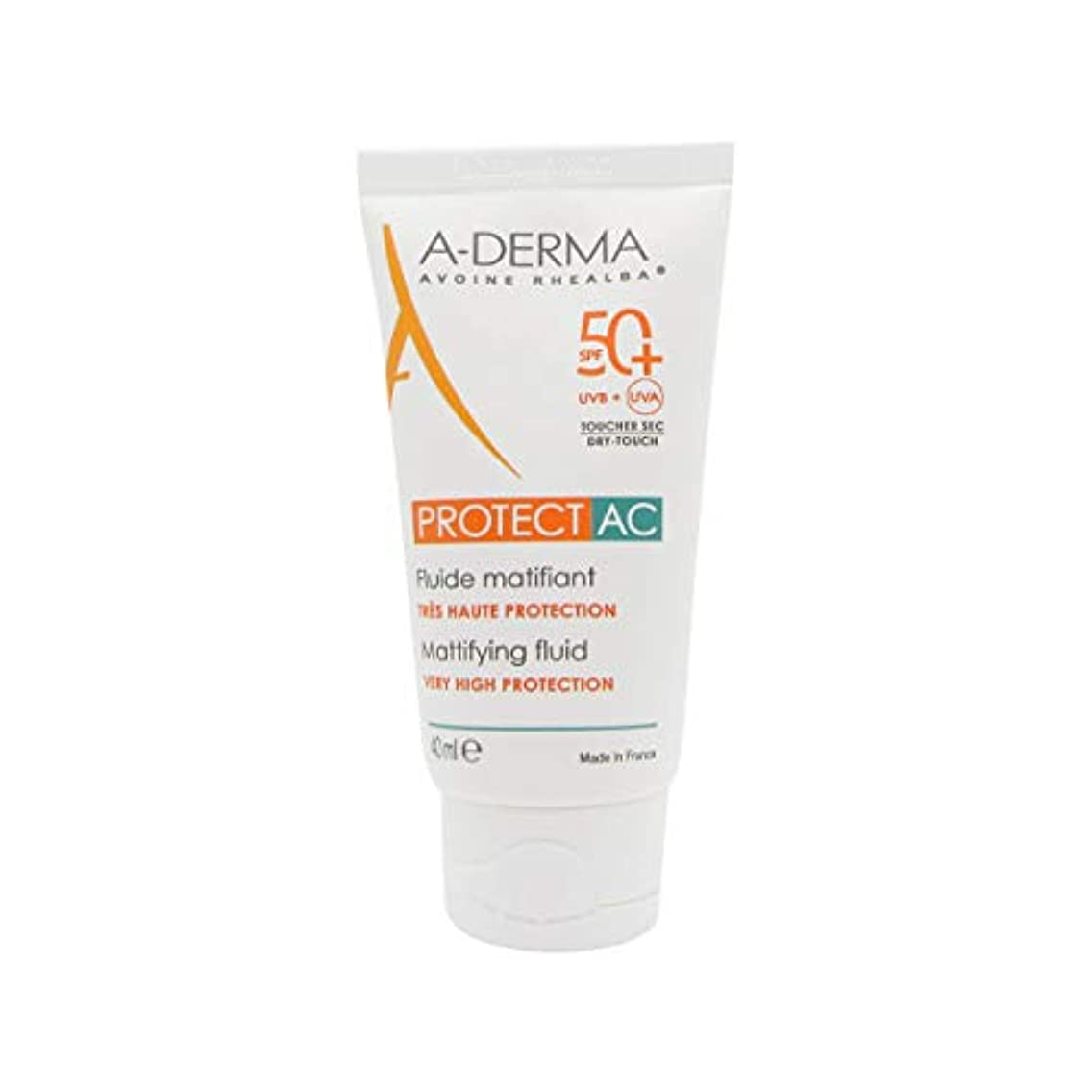 やめる木曜日足首A-Derma Protect AC Mattifying Fluid SPF50+ 40ml