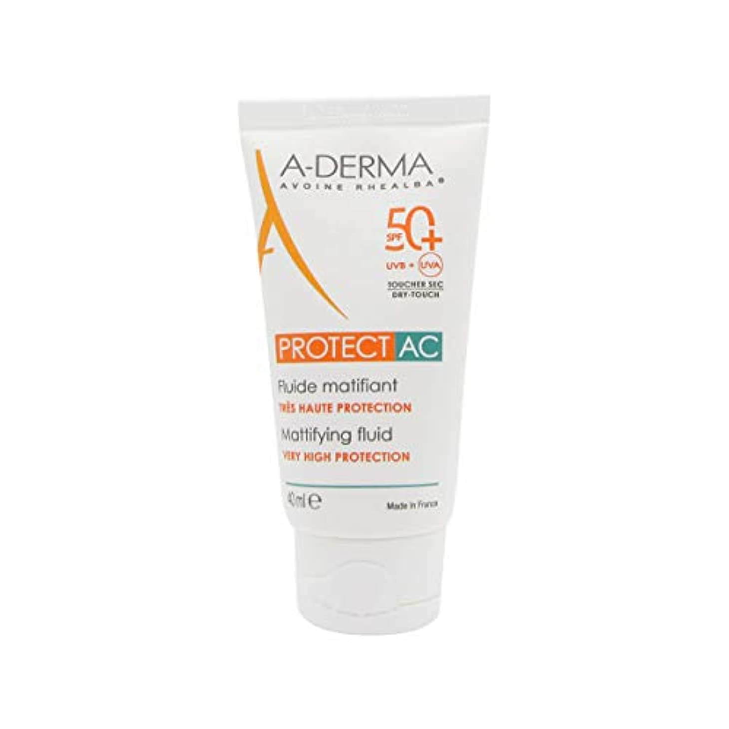 見えない病気エイリアンA-Derma Protect AC Mattifying Fluid SPF50+ 40ml