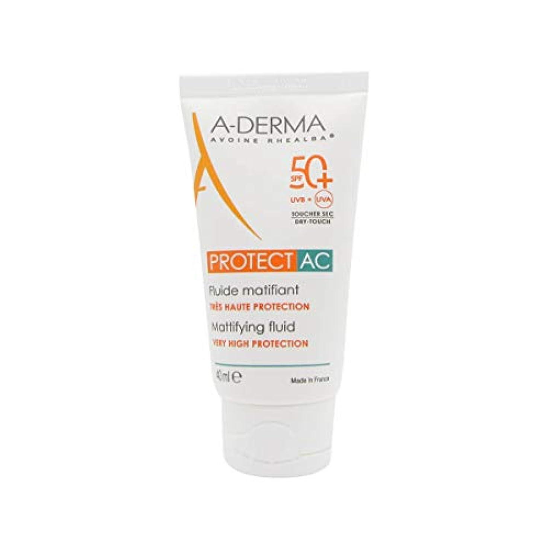 水を飲む下品教師の日A-Derma Protect AC Mattifying Fluid SPF50+ 40ml