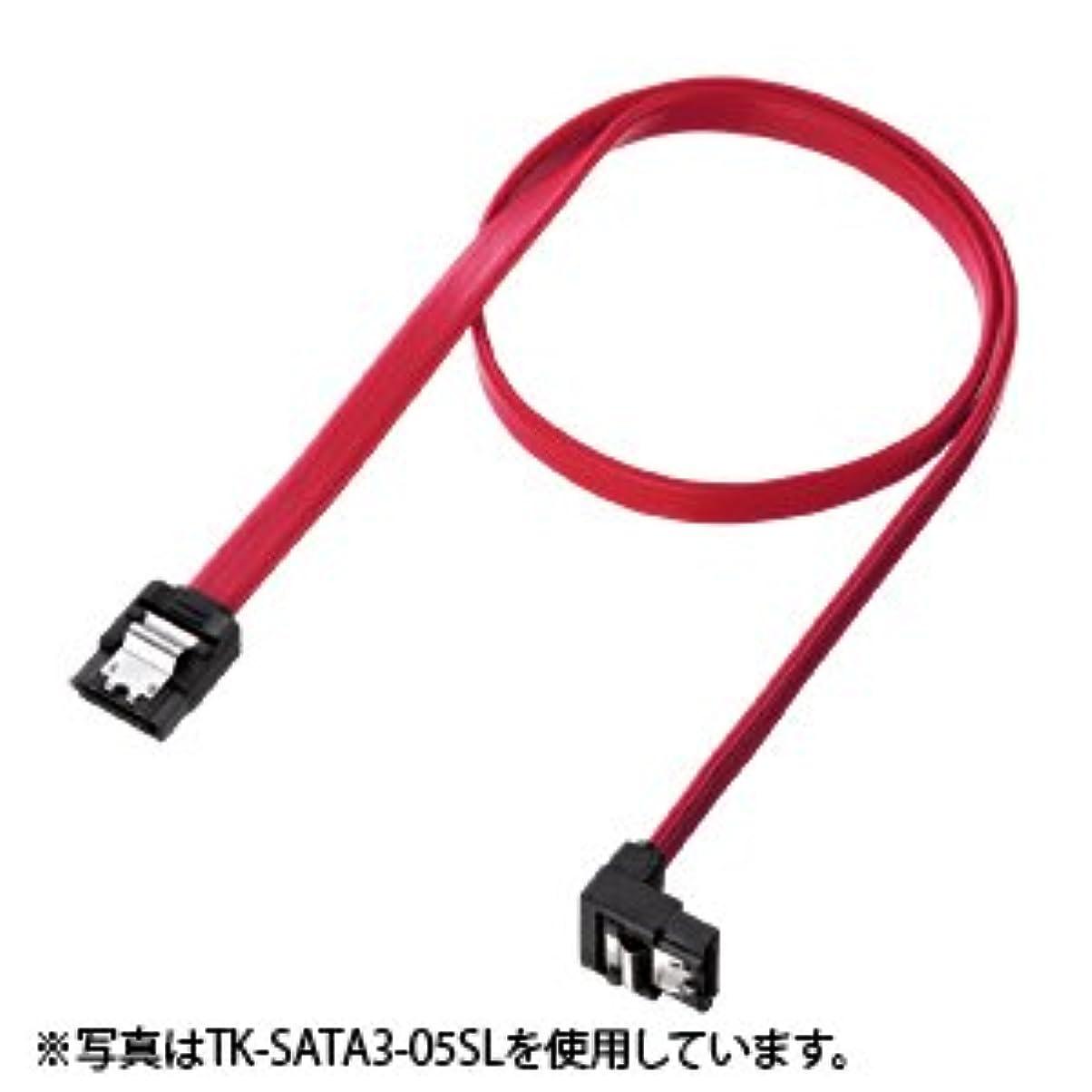 清める出力そしてサンワサプライ アウトレット 下L型 シリアルATA3 ケーブル 0.3m TK-SATA3-03SL 箱にキズ、汚れのあるアウトレット品です。