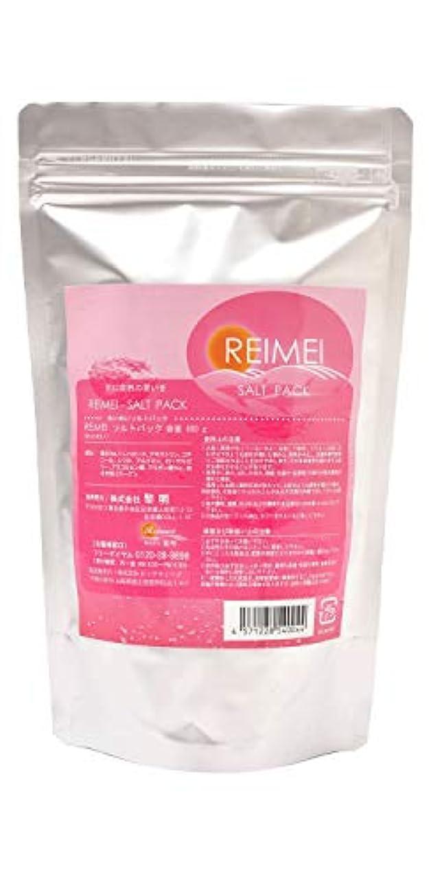 マイナス証人付録【reimei】ソルトエステ ソルト?パック 600g