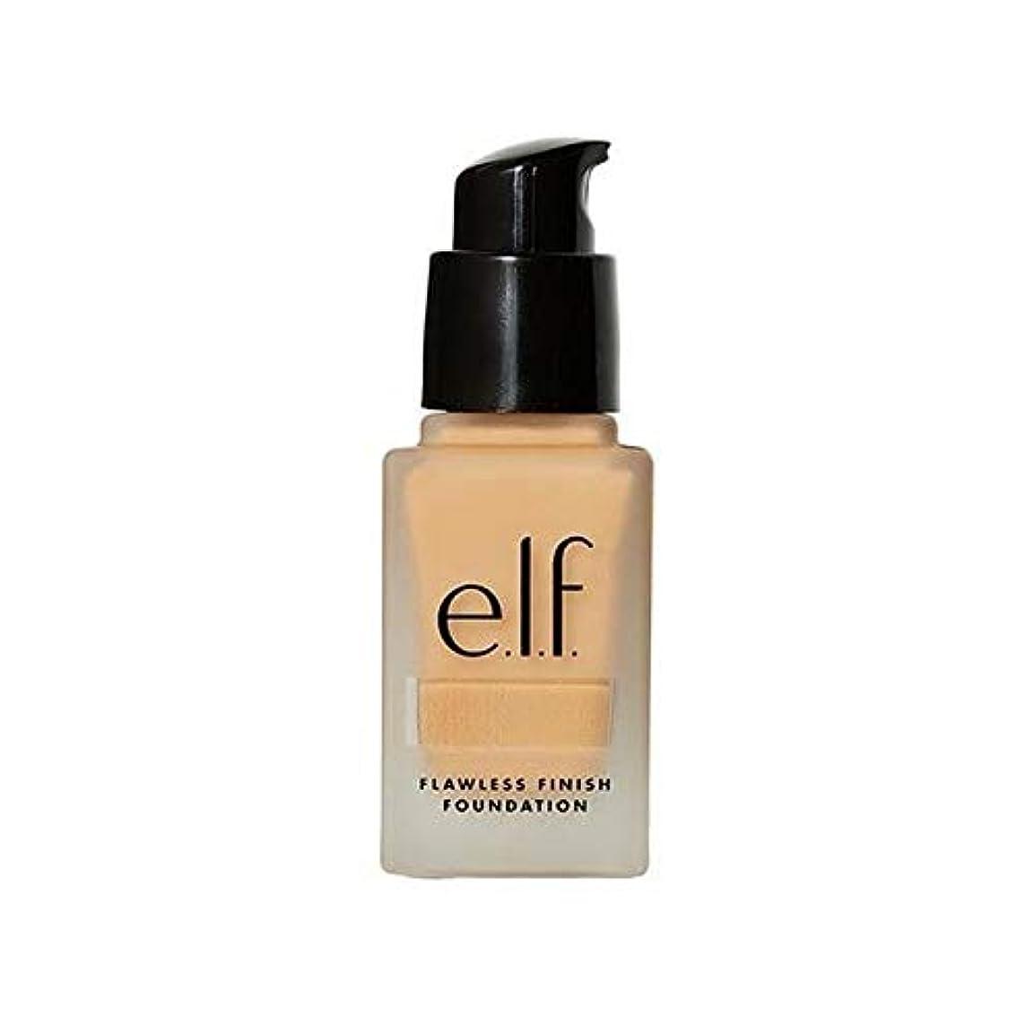 削るキャンセル言い直す[Elf ] エルフ。完璧な仕上げ基盤リネン - e.l.f. Flawless Finish Foundation Linen [並行輸入品]