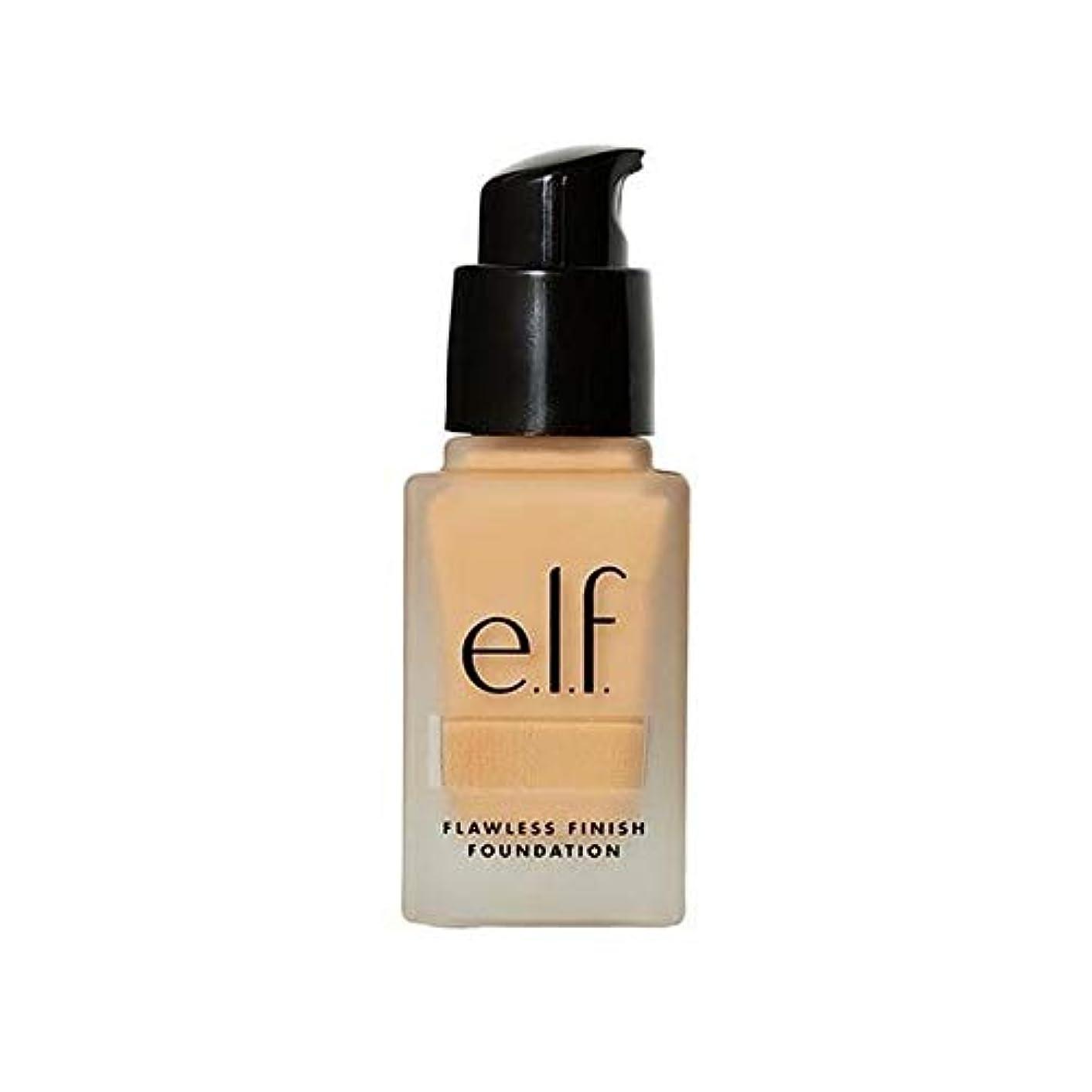 独立してシェル自宅で[Elf ] エルフ。完璧な仕上げ基盤リネン - e.l.f. Flawless Finish Foundation Linen [並行輸入品]