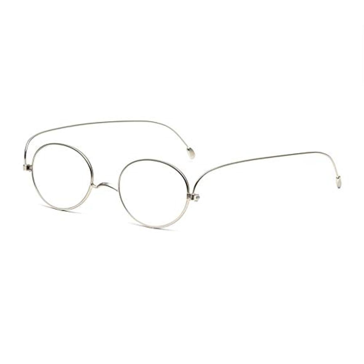LCSHAN 薄くてスタイリッシュなシンプルな抗疲労の男性と女性のHDのためのレトロな老眼鏡 (Color : A, Size : 200 degrees)
