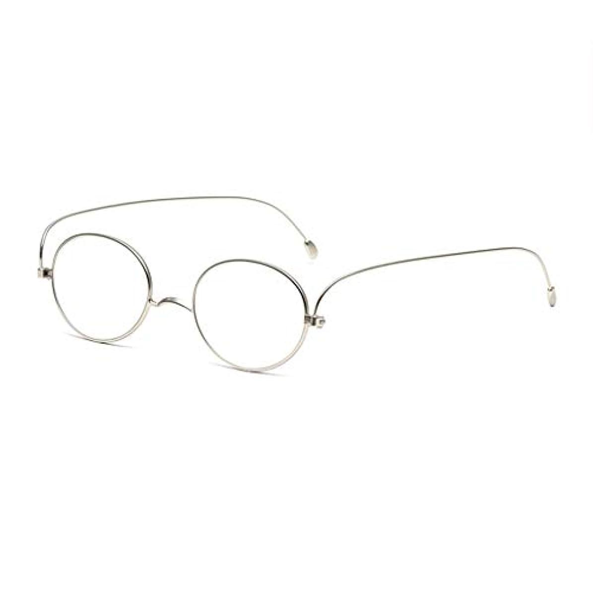 選挙折り目グローLCSHAN 薄くてスタイリッシュなシンプルな抗疲労の男性と女性のHDのためのレトロな老眼鏡 (Color : A, Size : 200 degrees)