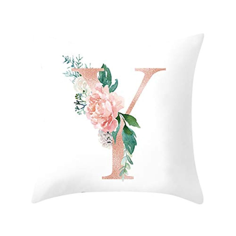 収穫日付敬意LIFE 装飾クッションソファ手紙枕アルファベットクッション印刷ソファ家の装飾の花枕 coussin decoratif クッション 椅子