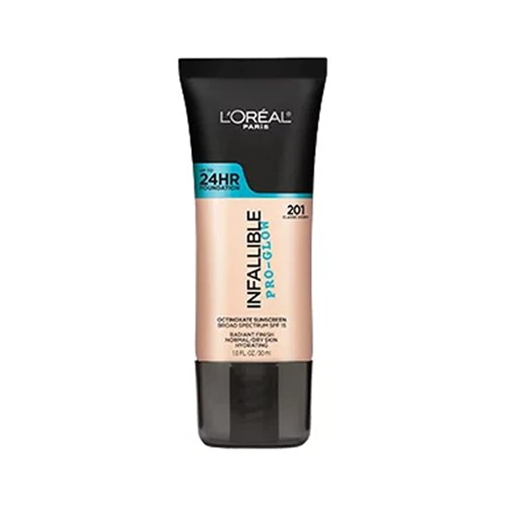 (3 Pack) L'OREAL Infallible Pro-Glow Foundation - Classic Ivory (並行輸入品)