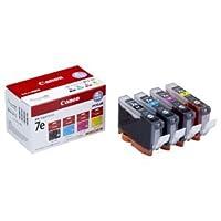 (まとめ) キヤノン Canon インクタンク BCI-7e/4MP 4色マルチパック 1018B001 1箱(4個:各色1個) 【×3セット】 ds-1570592