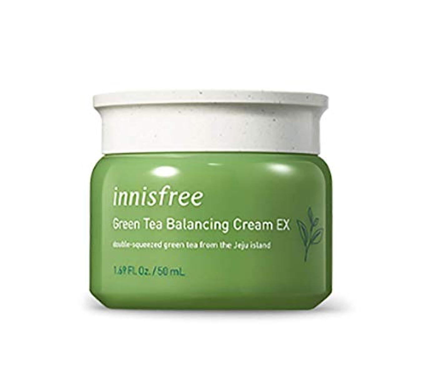 ボトルネック余裕がある微生物INNISFREE Green Tea Balancing Cream (並行輸入品)