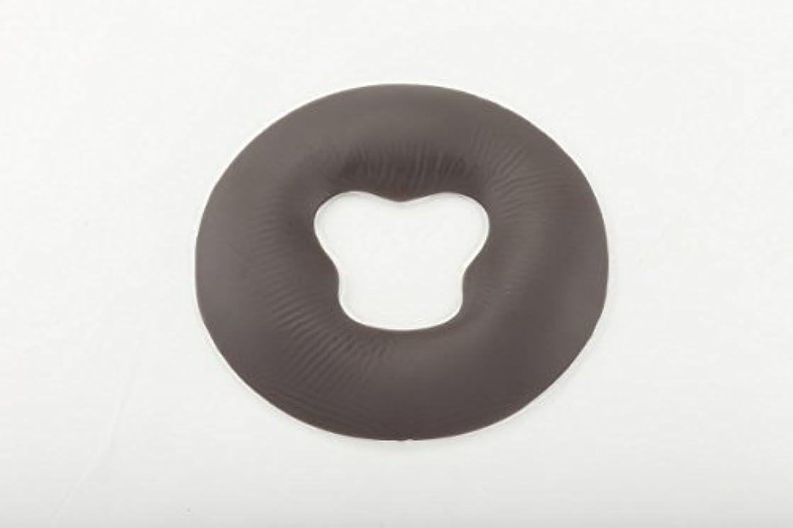 国医療のグリースジェル フェイスクッション シリコン 丸型 うつぶせマクラ (エステ 整体) FV-925 (ブラウン)