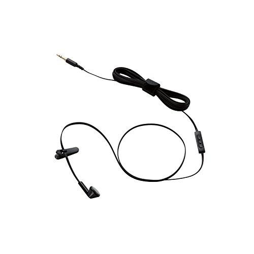 エレコム テレビ用インナーイヤータイプヘッドホン 片耳  EHP-TVIEM0230BK