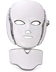 LED フェイスマスク、顔の美しさスキンケアマスク光子療法のための皮膚若返り抗老化しわにきび健康肌若返りコラーゲン