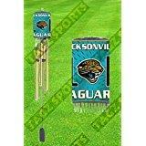 Jacksonville Jaguars、NFL、チャイム、各Wind Chimeはすべてメタルwith a真鍮またはクローム仕上げ。は33インチの長さ