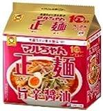 東洋水産 マルちゃん正麺 10周年記念商品 旨辛醤油 5食パック×6個