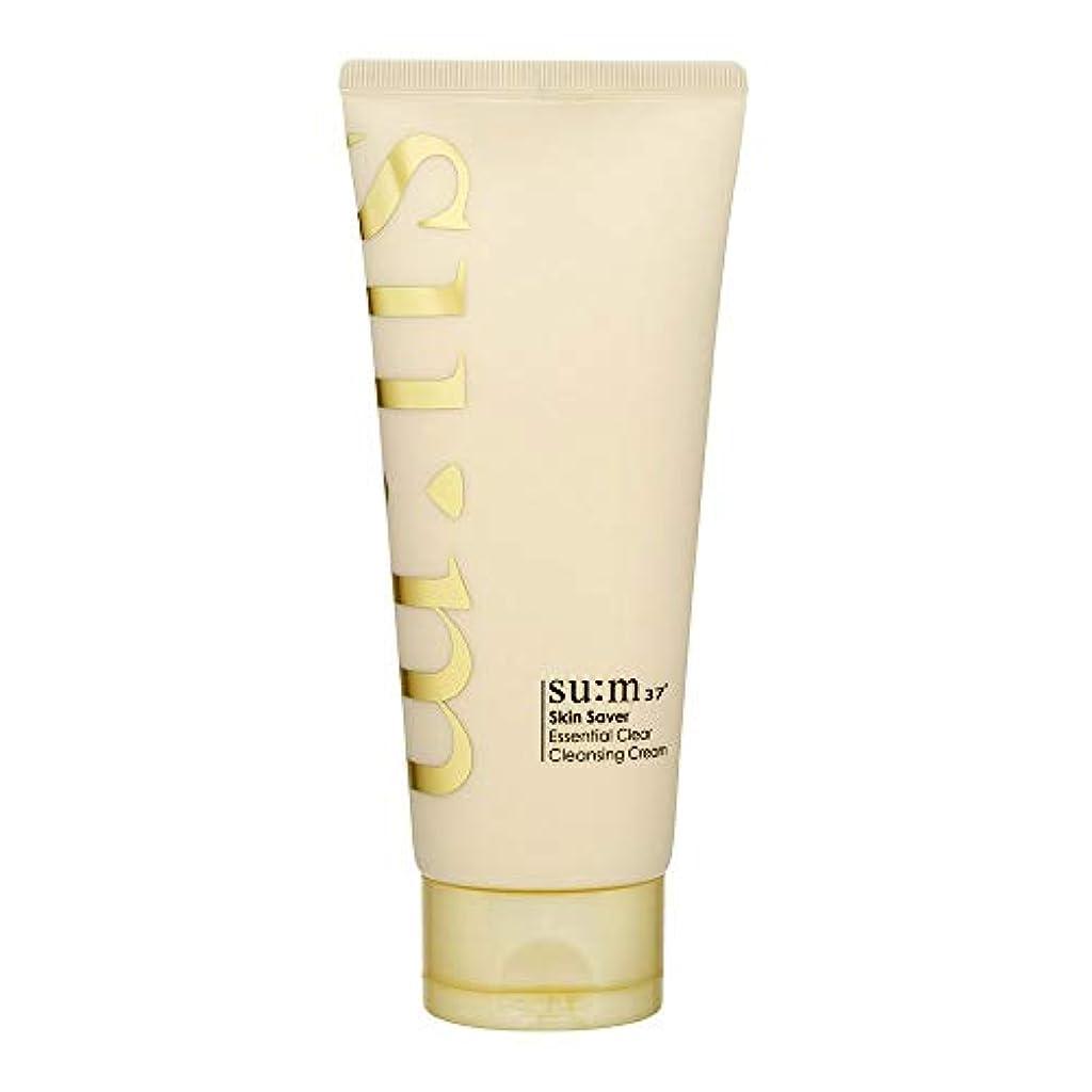 同じ軽減するこする[スム37°] Sum37° スキンセイバー エッセンシャルクリアクレンジングクリーム  Skin saver Essential Clear Cleansing Cream (海外直送品) [並行輸入品]