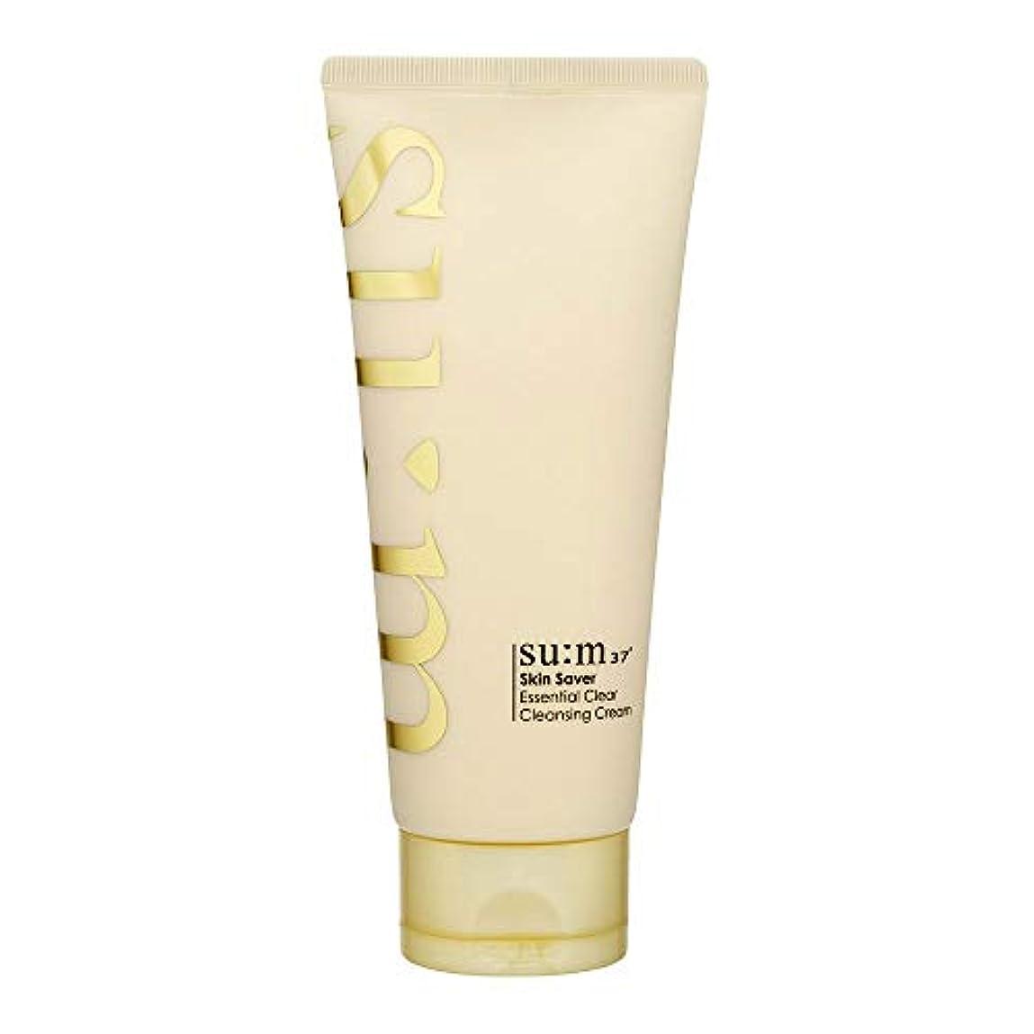 会社カスケード学習[スム37°] Sum37° スキンセイバー エッセンシャルクリアクレンジングクリーム  Skin saver Essential Clear Cleansing Cream (海外直送品) [並行輸入品]