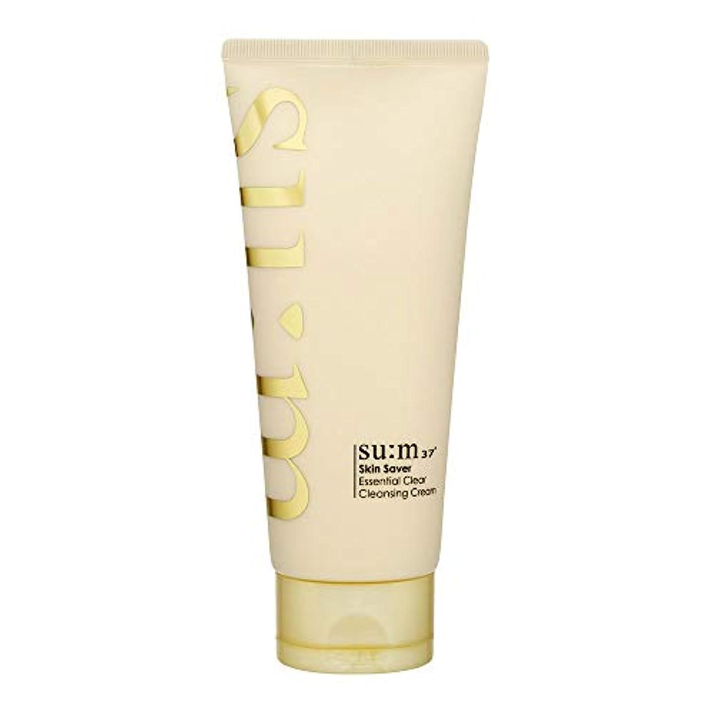 一流不十分なまともな[スム37°] Sum37° スキンセイバー エッセンシャルクリアクレンジングクリーム  Skin saver Essential Clear Cleansing Cream (海外直送品) [並行輸入品]
