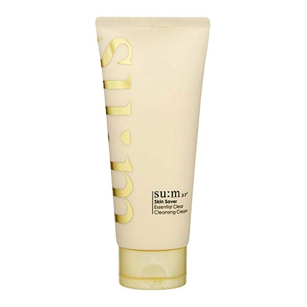 酸度返還サスペンド[スム37°] Sum37° スキンセイバー エッセンシャルクリアクレンジングクリーム  Skin saver Essential Clear Cleansing Cream (海外直送品) [並行輸入品]