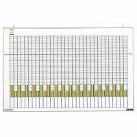ライオン事務器 統計図表盤 W860×H553×D18mm 1枚