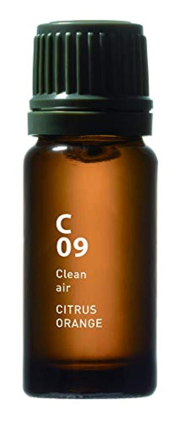 六分儀乗って推進、動かすC09 CITRUS ORANGE Clean air 10ml