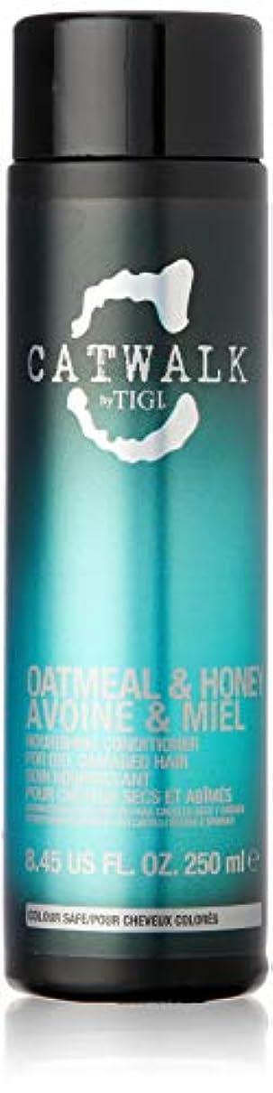 危険交換鮮やかなティジー Catwalk Oatmeal & Honey Nourishing Conditioner (For Dry, Damaged Hair) 250ml [海外直送品]