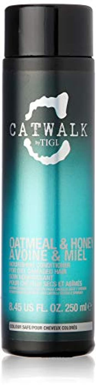 ハンディキャップ知覚グッゲンハイム美術館ティジー Catwalk Oatmeal & Honey Nourishing Conditioner (For Dry, Damaged Hair) 250ml [海外直送品]